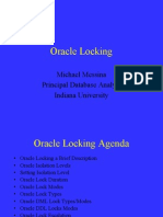 Oracle Locks