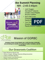 Organizing a Local Bike Summit - the Grand Rapids experience