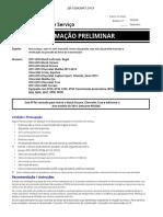 Boletim de serviço GM 2014 Equinox - Cruzer