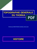 1 Topo générale du thorax