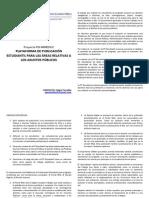 Boletín Informativo Plataforma de Publicación Estudiantil.