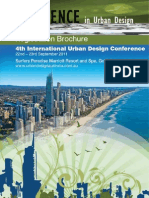 Resilience in Urban Design Confrence