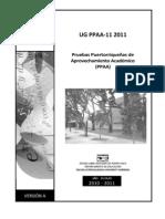PPAA Math Ug2011 Version A