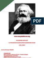 Karl Marx-Felsefenin Sefaleti