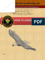 How to Carve a Feather