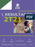 Press Release Do Resultado Da CCR Do 2t21