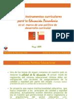Instrumentos Curriculares Educacion Parvularia