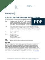 EMT Chicago Media Advisory
