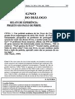 RELATO DE EXPERIÊNCIA - PROJETO SÁO PAULO DE PERFIL