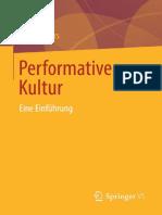 Performative Kultur-Jörg Volbers
