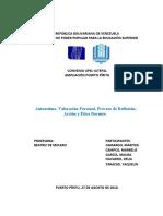 AUTOESTIMA VALORACION PERSONAL MARBELIA