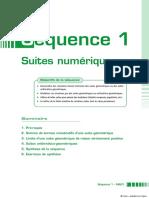 Suites numériques - Académie en ligne