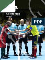 Leis jogo futsal 2020-21