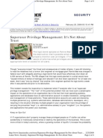 Superuser-Privilege-Managemen