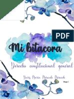 BITACORA CONSTITUCIONAL APUNTES