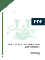 Estado Del Arte Del Control Fiscal - Martha