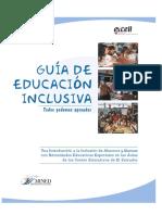 Guía de Educación Inclusiva. Todos Podemos Aprender (1)