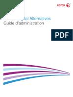 Xerox Digital Alternatives Administration Guide 2.0.XX-FR