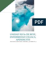 Unidad Xii Sx de Reye, Enfermedad Celiaca, Apendicitis