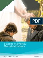 Manual Doutrina e Convênios - Manual do professor