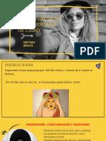 CARACTERIZACIÓN PERSONAJE LIBRO