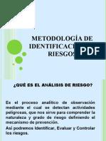 Metodología de identificación de riesgos
