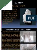 PATOLOGIA DEL YESO