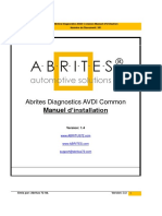 AVDI Common User's Manual French