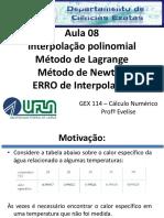 Aula8_interpolação