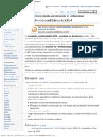 Acuerdo de confidencialidad - Wikipedia, la enciclopedia libre