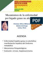 Fisiopatología de la esteatohepatitis no alcohólica