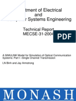 A SIMULINK MODEL FOR SIMULATION OF OPTICAL