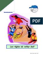 Livret les regles du volley