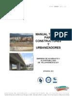Manual Tecnico Acueductos Villavicencio