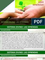 Lección 5 Sistema divino de las ofrendas