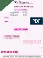 Exposición 04 - Sedantes, Hipnóticos y Anestésicos- Grupo 2