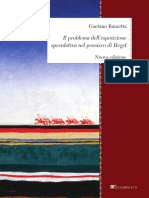 Gaetano Rametta - Il Problema Dell'Esposizione Speculativa Nel Pensiero Di Hegel-Inschibboleth (2020)