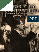 [Jorge Eliécer Gaitán] Gaitán y La Constituyente