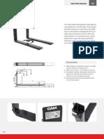 Telescopic forks CAM (2) каталог