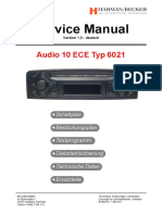 Becker Audio-10 Ece Typ Be6021 v1.0