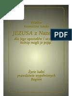 Wielkie kosmiczne nauki Jezusa dla jego uczniów