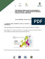 6. Fondul Social European Ing.ioan Arghius CCIR
