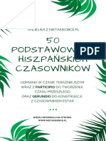NIETAKIEOBCE.pl Lista 50 Czasowników – Język Hiszpański