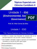 Unidade 1 - ESG (Environmental, Social and Governance)