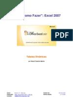 SÉRIES COMO FAZER - Excel 2007 - Tabelas Dinâmicas