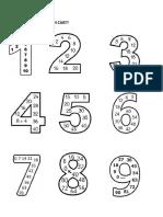Înmulțirea Numerelor Naturale (Bilețele de Lipit În Caiet)