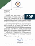 Arizona AG Letter to Biden on Mayorkas