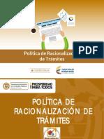 4.Politica Racionalizacion de Tramites