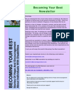 Becoming Your Best Newsletter - March 2011
