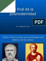 El final de la Posmodernidad